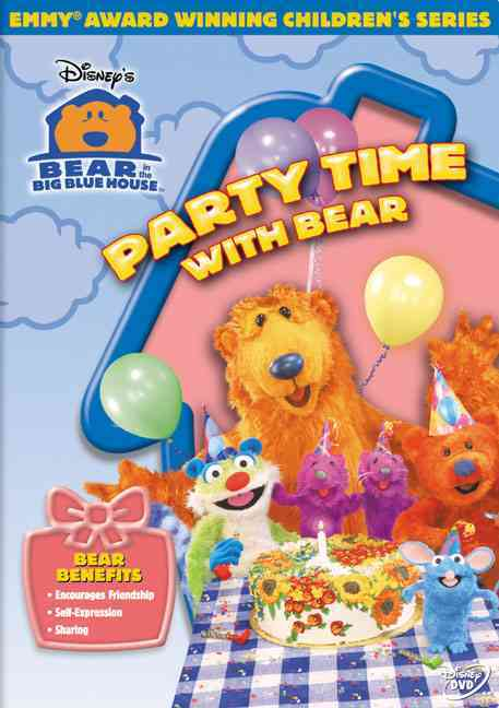 BEAR IN THE BIG BLUE HOUSE:PARTY TIME BY BEAR IN THE BIG BLUE (DVD)